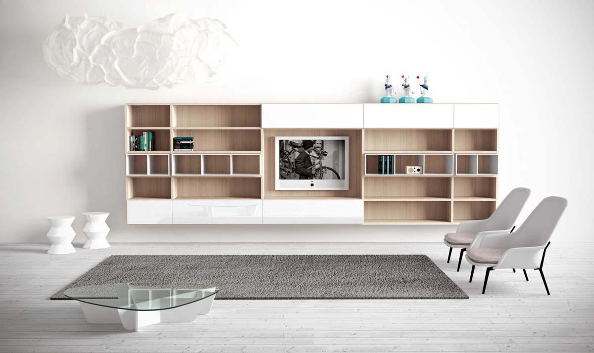 Zona giorno di sante mobili centro cucine lube for Nova arredamenti